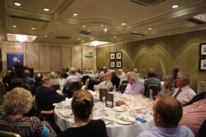 A general view of the attendance at Speakers Lunch on Friday, 20th May, in Buswells Hotel, Dublin.