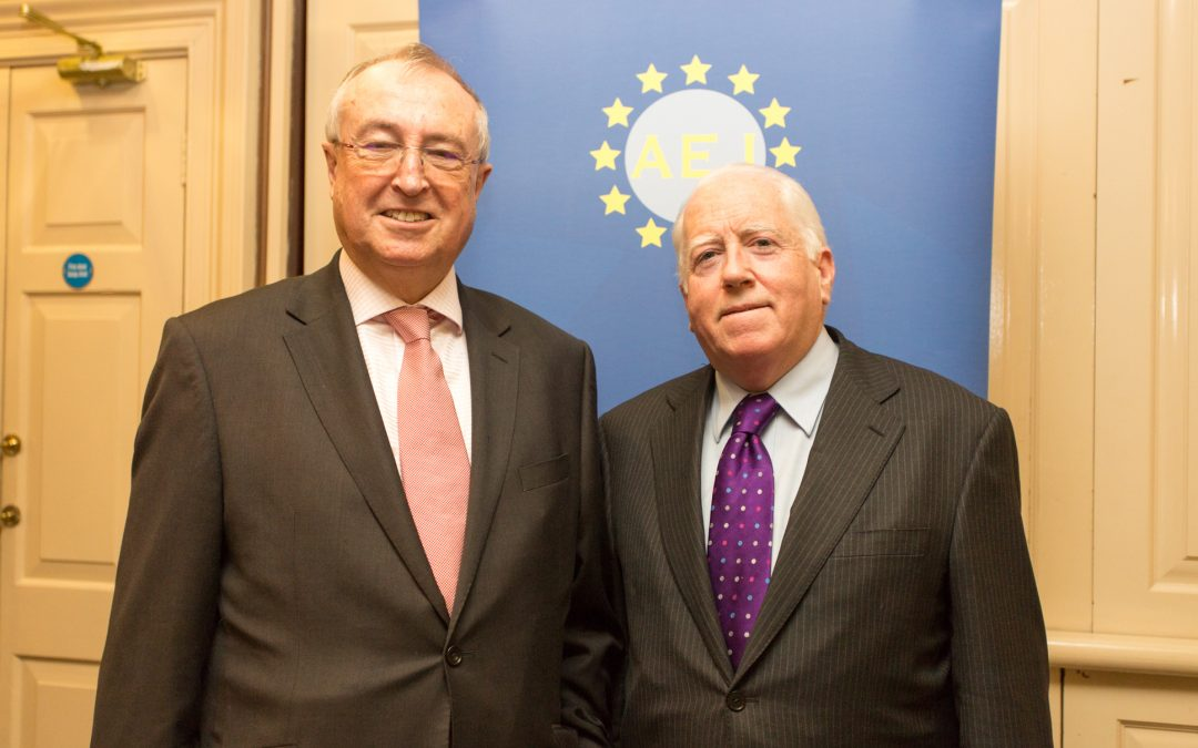 Photo gallery from lunch with guest speaker Richard Pym, Chairman AIB Bank